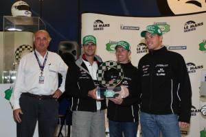 """Übergabe der """"Michelin Green X Challenge"""" Trophy am """"Ring"""""""